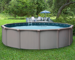 Bermuda Aluminum Above Ground Swimming Pool Packages