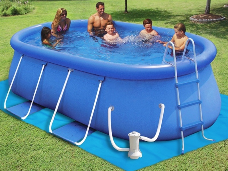 Pools For Backyards Inflatable : No matter what your choice may be for a Backyard Ocean Pool, you are