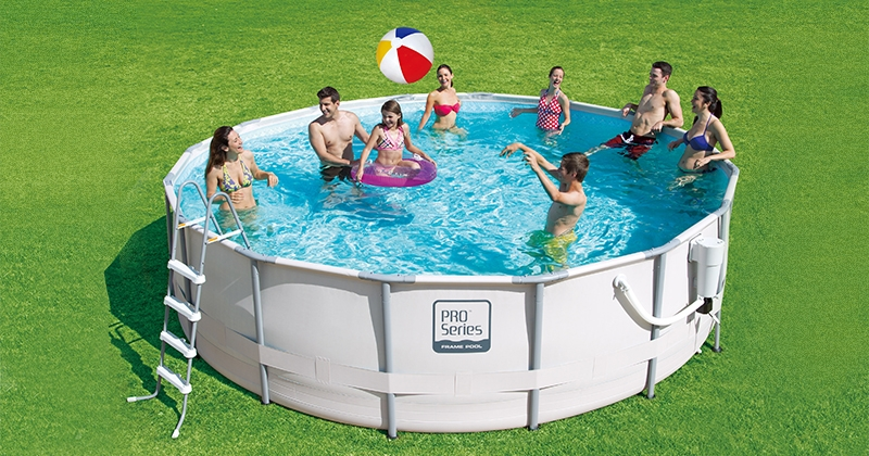 "Intex 16' x 48"" ProSeries Above Ground Swimming Pool Set"