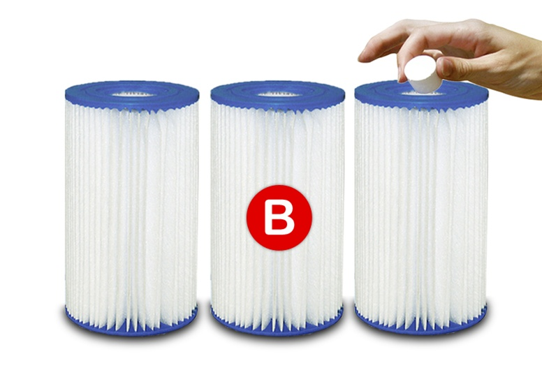 Intex Type B Above Ground Pool Filter Cartridge Replacement