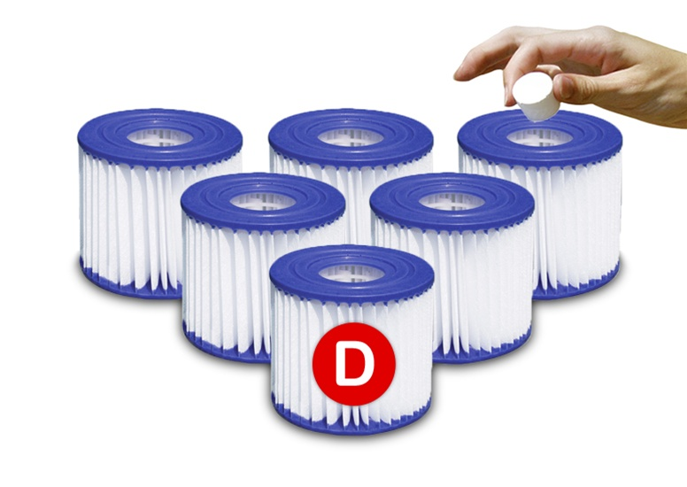 Sand N Sun Type D Swimming Pool Filter Cartridge Replacement